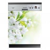 Stickers lave vaisselle fleurs