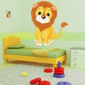 Autocollant Stickers lion