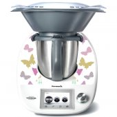 Stickers Thermomix TM5 Papillon en folie