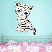 Stickers Tigre Blanc