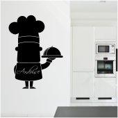 Tafelfolie Küchenchef