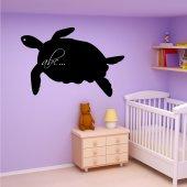 Tortoise - Chalkboard / Blackboard Wall Stickers
