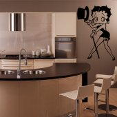 Vinilo decorativo Betty Boop