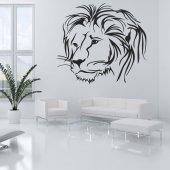 Vinilo decorativo león