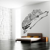 Vinilo decorativo leopardo