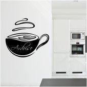 Vinilo Pizarra taza para café