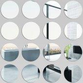 Wandspiegel aus Acrylglas Rund Set