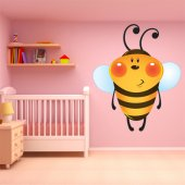 Wandsticker Bienen Set