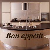 Wandtattoo Bon Appétit