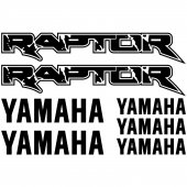 Yamaha RAPTOR Decal Stickers kit