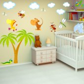 Kit Stickers Enfants Animaux