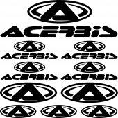 Acerbis Aufkleber-Set