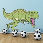 Adesivo Murale bambino dinosauro