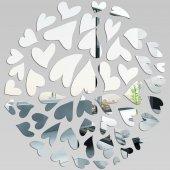 Akrylowe Lustro Plexiglas - Serduszka