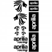 Aprilia Racing Aufkleber-Set