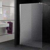 Autocolante cabine de duche ondas