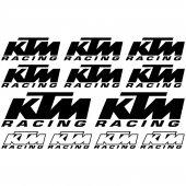 Autocolante ktm racing 2