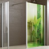 Bamboo - shower sticker
