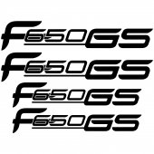 BMW f 650gs Aufkleber-Set