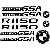 Bmw r 1150gsa Decal Stickers kit
