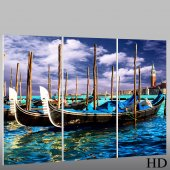 Boat - Triptych Forex Print
