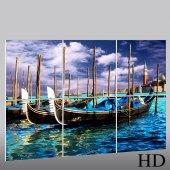 Boat - Triptych Forex Print