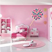 Candy Cane Wall Stickers