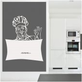 Chef - Whiteboard Wall Stickers