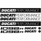 Ducati 1098r Decal Stickers kit