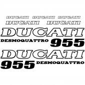 Ducati 955 Desmo Aufkleber-Set