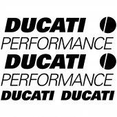 Ducati performance Decal Stickers kit