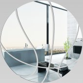 Espejos decorativo Acrílico Pléxiglas  bola del baloncesto