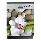 Flower Pebble - Dishwasher Cover Panels