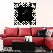 Frame - Chalkboard / Blackboard Wall Stickers