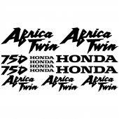 Honda africa twin 750 Aufkleber-Set