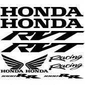Honda rvt 1000rr Aufkleber-Set