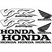 Honda vfr interceptor Decal Stickers kit