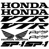 Honda vtr sp1 Decal Stickers kit