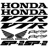 Honda vtr sp2 Decal Stickers kit