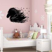 Horse - Chalkboard / Blackboard Wall Stickers