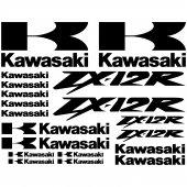 Kawasaki ZX-12r Decal Stickers kit