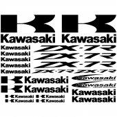 Kawasaki ZX-7r Aufkleber-Set