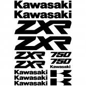 Kawasaki zxr 750 Decal Stickers kit