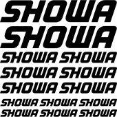 Kit stickers showa