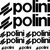 Komplet  naklejek - Polini