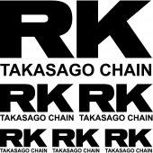 Komplet  naklejek - RK Takasago