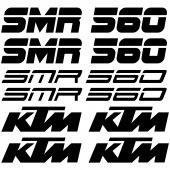 Ktm 560 smr Decal Stickers kit