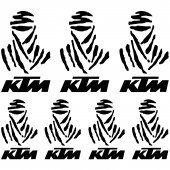 Ktm Dakar Decal Stickers kit