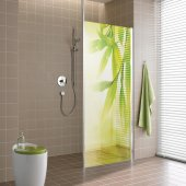 Leaves - shower sticker