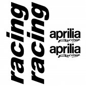 Naklejka ścienna - Aprilia Racing